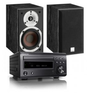 Denon D-M41DAB Hi-Fi System with Dali Spektor 1 Speakers