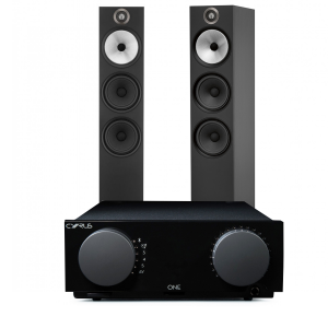 Cyrus One Integrated Amplifier with Bowers & Wilkins 603 Floorstanding Speakers