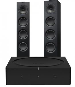Sonos Amp with KEF Q550 Speakers