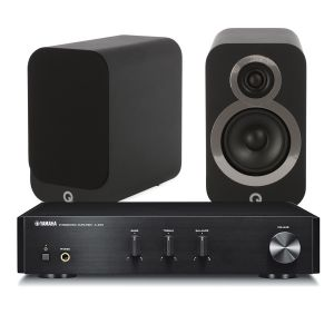 Yamaha A-670 with Q Acoustics 3010i Speakers