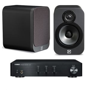 Yamaha A-670 with Q Acoustics 3020 Speakers
