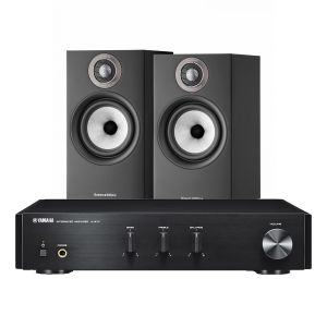 Yamaha A-670 with Bowers & Wilkins 607 S2 Standmount Loudspeakers