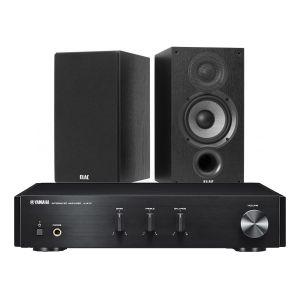 Yamaha A-670 with Elac Debut B5.2 Bookshelf Speakers