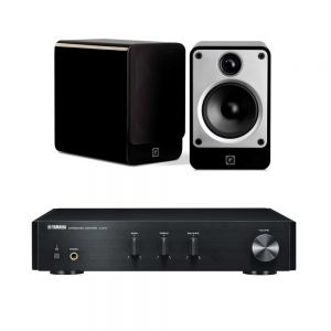 Yamaha A-670 with Q Acoustics Concept 20 Speakers
