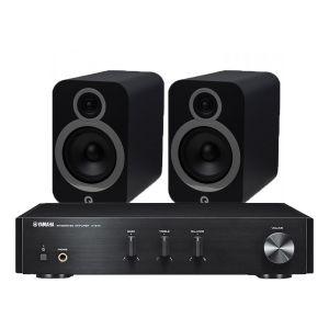 Yamaha A-670 with Q Acoustics 3030i Bookshelf Speakers