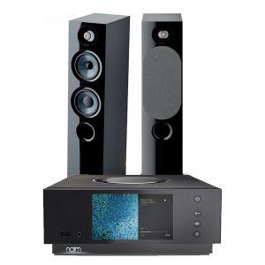 Naim Atom HDMI with Focal Chora 816 Floorstanding Speakers