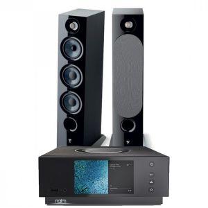 Naim Atom HDMI with Focal Chora 826 Floorstanding Speakers