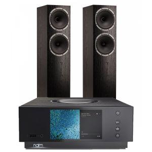 Naim Atom HDMI with Fyne Audio F502 Floorstanding Speakers