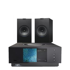 Naim Atom HDMI with KEF Q350 Bookshelf Speakers