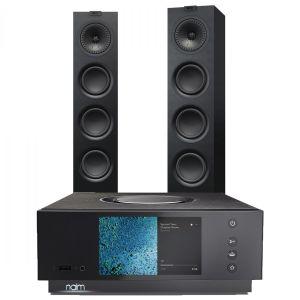 Naim Atom HDMI with KEF Q550 Floorstanding Speakers