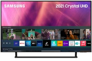"Samsung 2021 Range 43"" UE43AU9000 Crystal UHD 4K HDR Smart TV"