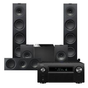 Denon AVC-X8500H AV Receiver with KEF Q750 AV Speaker Pack