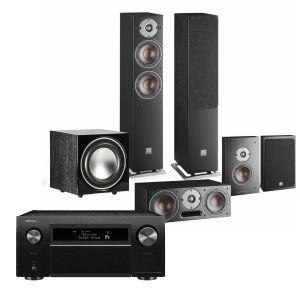 Denon AVC-X8500H AV Receiver with Dali Oberon 5 AV Speaker System