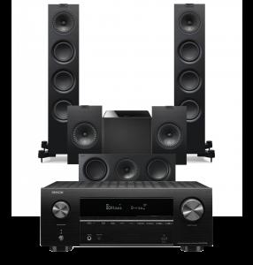 Denon AVR-X2700H AV Receiver with KEF Q550 AV Speaker Pack