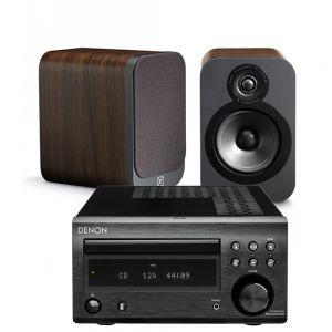 Denon D-M41DAB Hi-Fi System with Q Acoustics 3020 Speakers