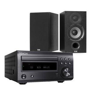 Denon D-M41DAB Hi-Fi System with Elac Debut B6.2 Bookshelf Speakers