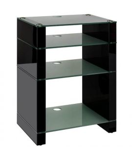 Black Gloss, Etched Glass