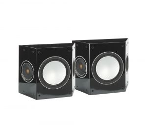 Monitor Audio Silver 5G FX Rear Effect Speakers - High Gloss Black