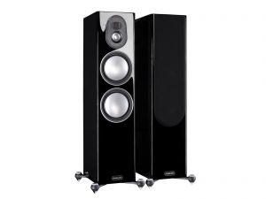Ex Display - Monitor Audio Gold 5G 300 Floor Standing Speakers - High Gloss Black