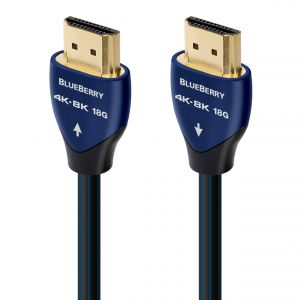 AudioQuest BlueBerry 4K-8K 18Gbps HDMI Cable