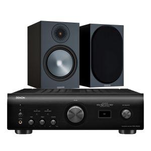 Denon PMA-1600NE Integrated Amplifier with Monitor Audio Bronze 100 Speakers (6th Gen)