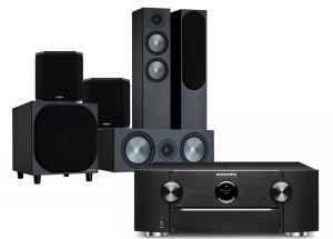 Marantz SR6015 9.2ch 8K AV Amplifier with Monitor Audio Bronze 200 AV Speaker Pack