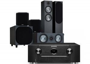 Marantz SR6015 9.2ch 8K AV Amplifier with Monitor Audio Bronze 500 AV Speaker Pack