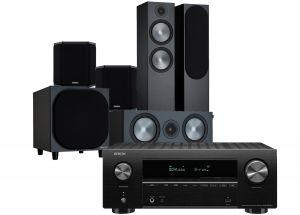 Denon AVR-X2700H AV Receiver with Monitor Audio Bronze 500 AV Speaker Pack