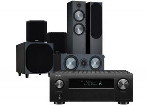 Denon AVC-X4700H AV Amplifier with Monitor Audio Bronze 500 AV Speaker Pack