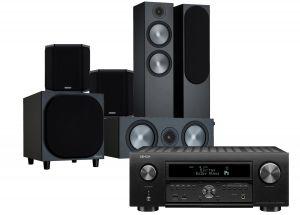 Denon AVC-X6700H 11.2 AV Amplifier with Monitor Audio Bronze 500 AV Speaker Pack