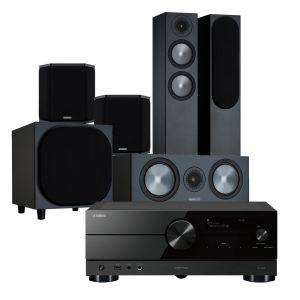 Yamaha RX-A2A AV Receiver with Monitor Audio Bronze 200 AV Speaker Pack