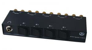 B-Tech BT913 4 Way Speaker Switch