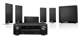 Denon AVR-X1600H AV Receiver with KEF T105 System 5.1 Speaker Pack
