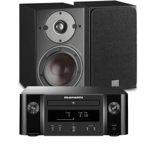 Marantz Melody M-CR412 Music System with Dali Oberon 1 Bookshelf Speakers