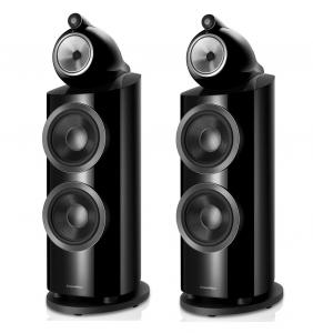 Ex Display - Bowers & Wilkins 802 D3 Floorstanding Speakers - Black