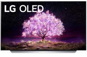 "LG OLED77C16LA 2021 Range 77"" 4K Smart OLED Television"