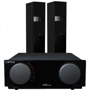 Cyrus One Cast Amplifier with Fyne Audio F303 Floorstanding Speakers