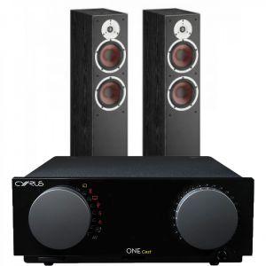 Cyrus One Cast Amplifier with Dali Spektor 6 Floorstanding Speakers