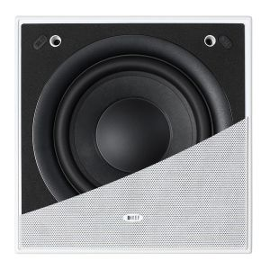 KEF Ci200QSb-THX In-Wall/Ceiling Subwoofer (Pair)