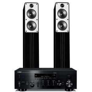 Yamaha R-N803D Amplifier with Q Acoustics Concept 40 Speakers