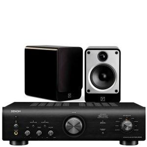 Denon PMA-600NE Integrated Amplifier with Q Acoustics Concept 20 Speakers