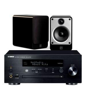 Yamaha CRX-N470D with Q Acoustics Concept 20 Speakers