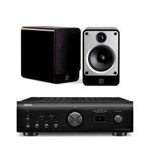 Denon PMA-1600NE with Q Acoustics Concept 20 Speakers