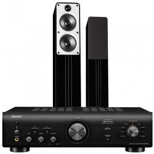 Denon PMA-600NE Integrated Amplifier with Q Acoustics Concept 40 Speakers
