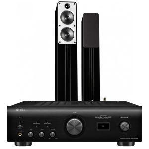 Denon PMA-1600NE Integrated Amplifier with Q Acoustics Concept 40 Floorstanding Speakers
