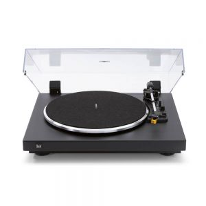 Dual CS 458 EV Turntable with Built-in MM Phono Stage - Black