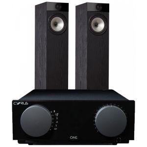 Cyrus One Integrated Amplifier with Fyne Audio F302 Floorstanding Speakers