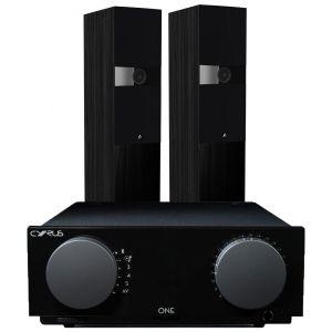 Cyrus One Integrated Amplifier with Fyne Audio F303 Floorstanding Speakers