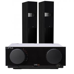 Cyrus One HD Integrated Amplifier with Fyne Audio F303 Floorstanding Speakers
