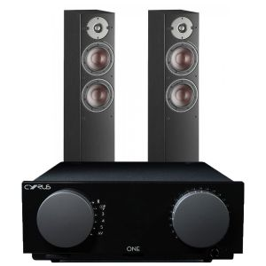 Cyrus One Integrated Amplifier with Dali Oberon 5 Floorstanding Speakers